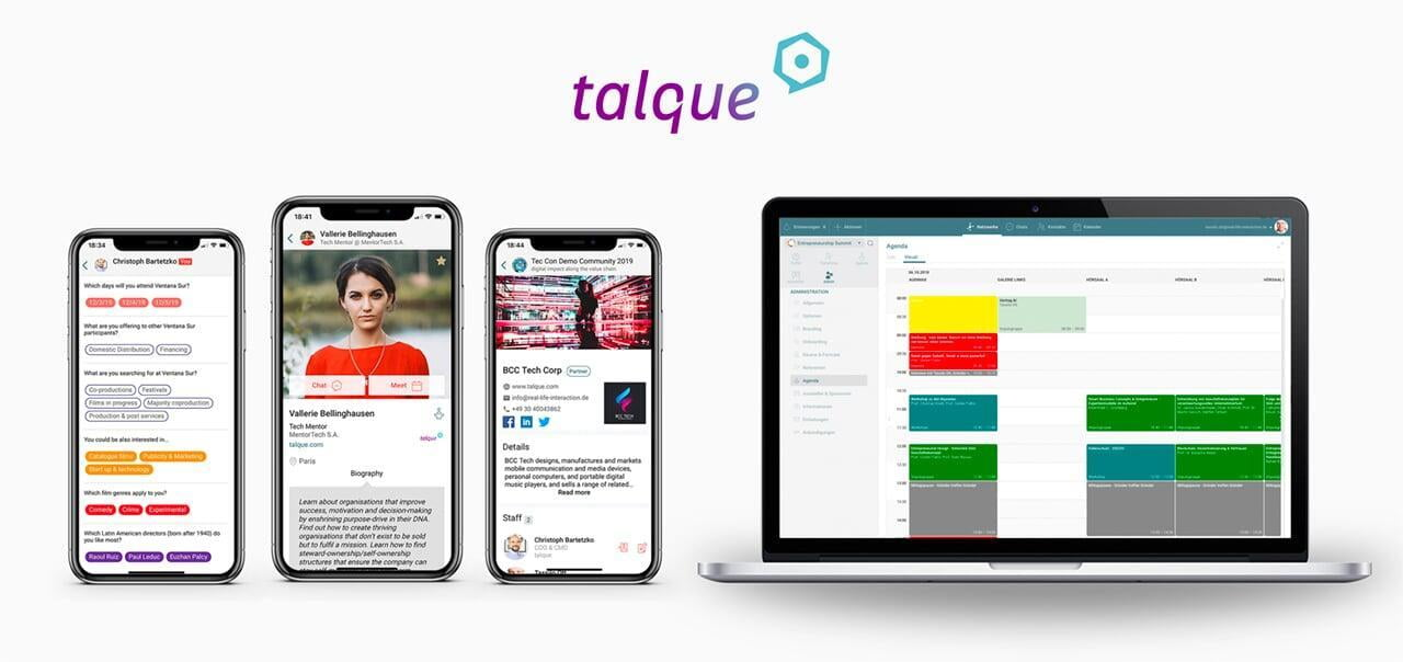 talque - Die Virtual Event Plattform